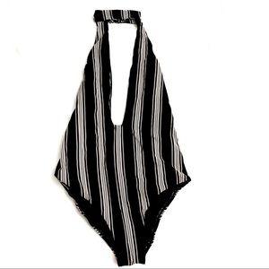 Billabong Swim - Billabong away we go one piece striped swimsuit